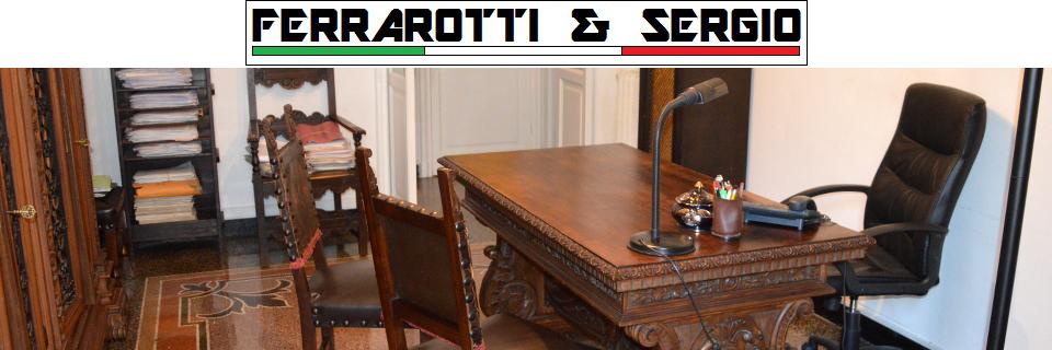 Studio consulenza tecnica e legale D.ssa Laura Ferrarotti – Avv. Stefano Sergio